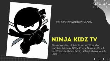 Ninja Kidz TV Phone Number, Texting Number, Contact Number, Office Phone Number