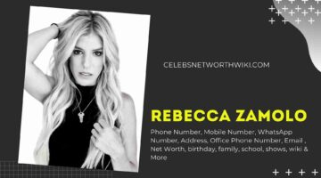 Rebecca Zamolo Phone Number, Texting Number, Contact Number, Office Phone Number