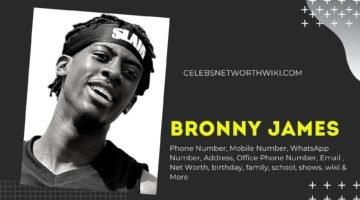 Bronny James Phone Number, WhatsApp Number, Contact Number, Office Phone Number