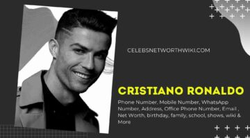 Cristiano Ronaldo Phone Number, Texting Number, Contact Number, Office Phone Number