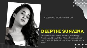 Deepthi Sunaina Phone Number, WhatsApp Number, Contact Number, Office Phone Number