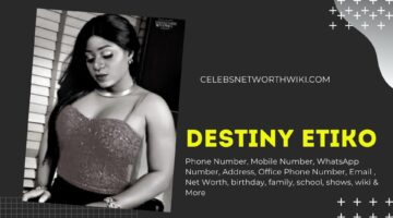 Destiny Etiko Phone Number, Texting Number, Contact Number, Office Phone Number