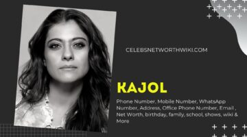 Kajol Phone Number, Texting Number, Contact Number, Office Phone Number