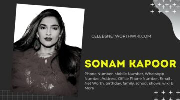 Sonam Kapoor Phone Number, Texting Number, Contact Number, Office Phone Number