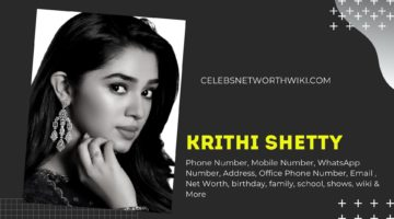 Krithi Shetty Phone Number, WhatsApp Number, Contact Number, Office Phone Number