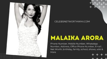 Malaika Arora Phone Number, Texting Number, Contact Number, Office Phone Number