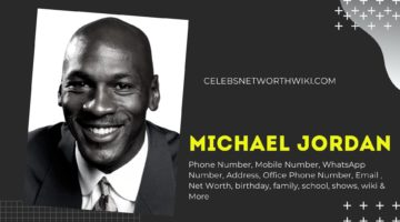 Michael Jordan Phone Number, WhatsApp Number, Contact Number, Office Phone Number