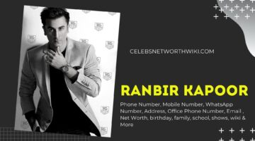 Ranbir Kapoor Phone Number, WhatsApp Number, Contact Number, Office Phone Number