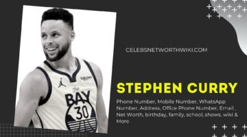 Stephen Curry Phone Number, WhatsApp Number, Contact Number, Office Phone Number