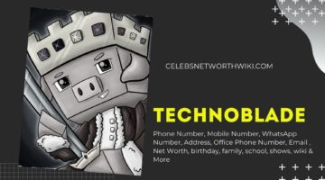Technoblade Phone Number, WhatsApp Number, Contact Number, Office Phone Number